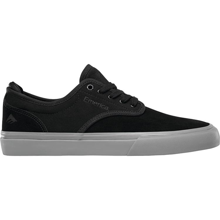 Emerica Wino G6 Skate Shoes - Black/Grey