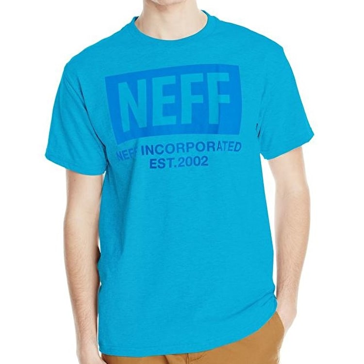 Neff New World T-Shirt - Turquoise