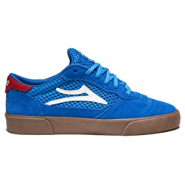 Lakai Cambridge (Jovontae Turner) Skate Shoes - Blue/Gum Suede