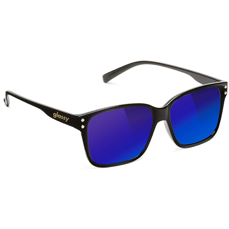 Glassy Sunhaters Fritz - Black/Blue Mirror