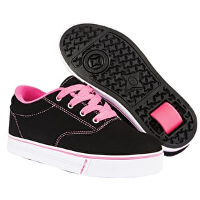 Heelys Launch 2.0 - Black Nubuck/Pink