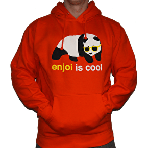 Enjoi Cool Pullover Hoodie - Orange