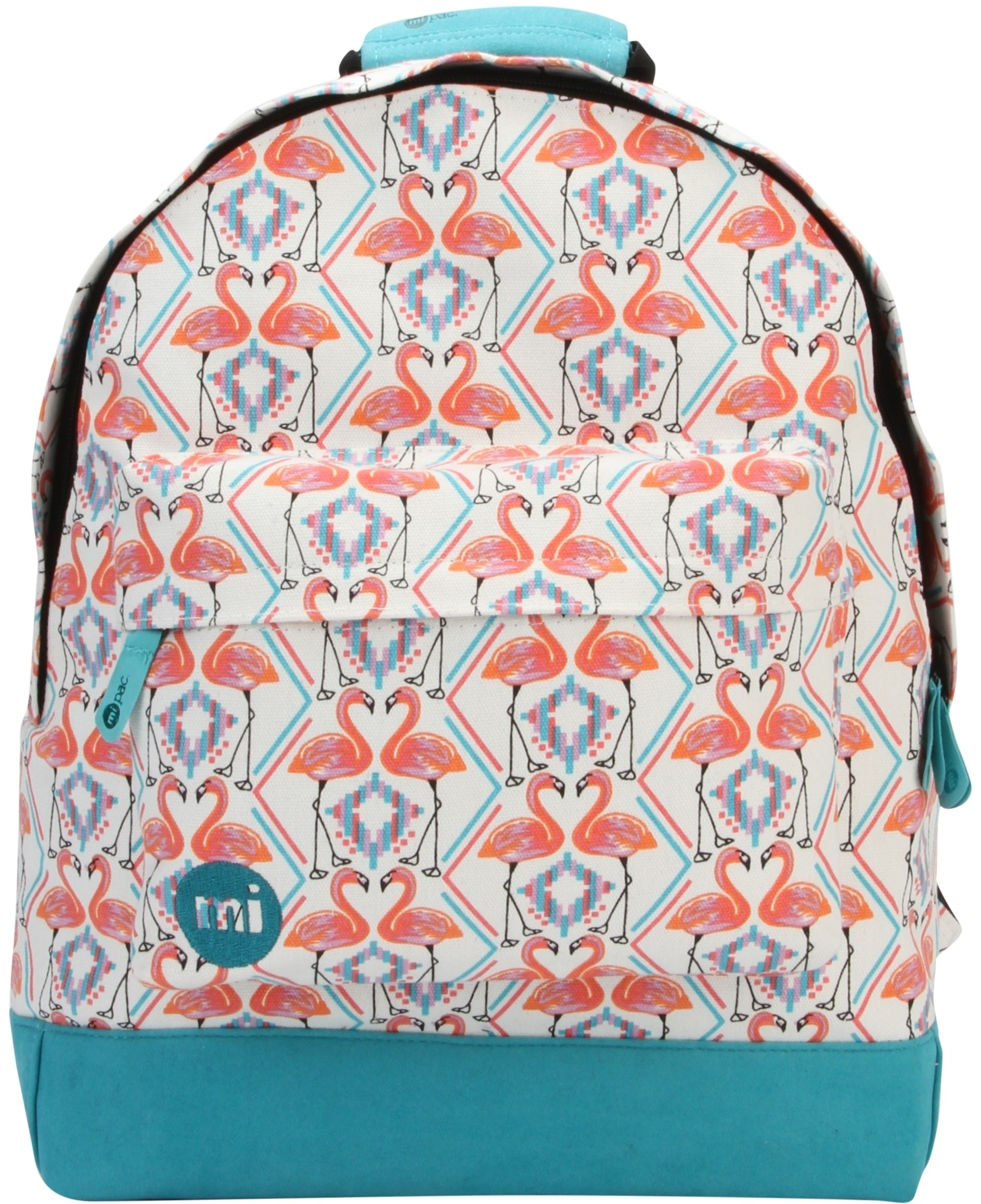 MiPac Flamingos Backpack  White