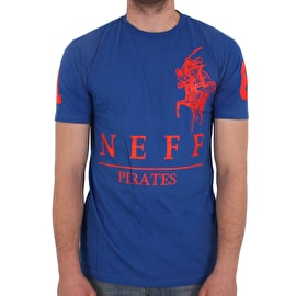 Neff Pirates T shirt - Royal
