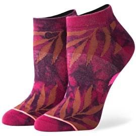 Stance Acid Jungle Womens Socks - Maroon