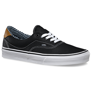 Vans Era 59 Shoes - (Waxed Canvas) Black