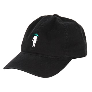 Lakai x Girl Flare Dad Cap - Black