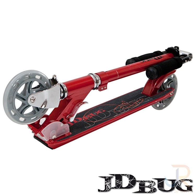 JD Bug Folding Commuter Scooter - Street MS150 Red Glow Pearl