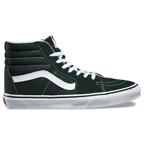 Vans Sk8-Hi Skate Shoes - Scarab/True White