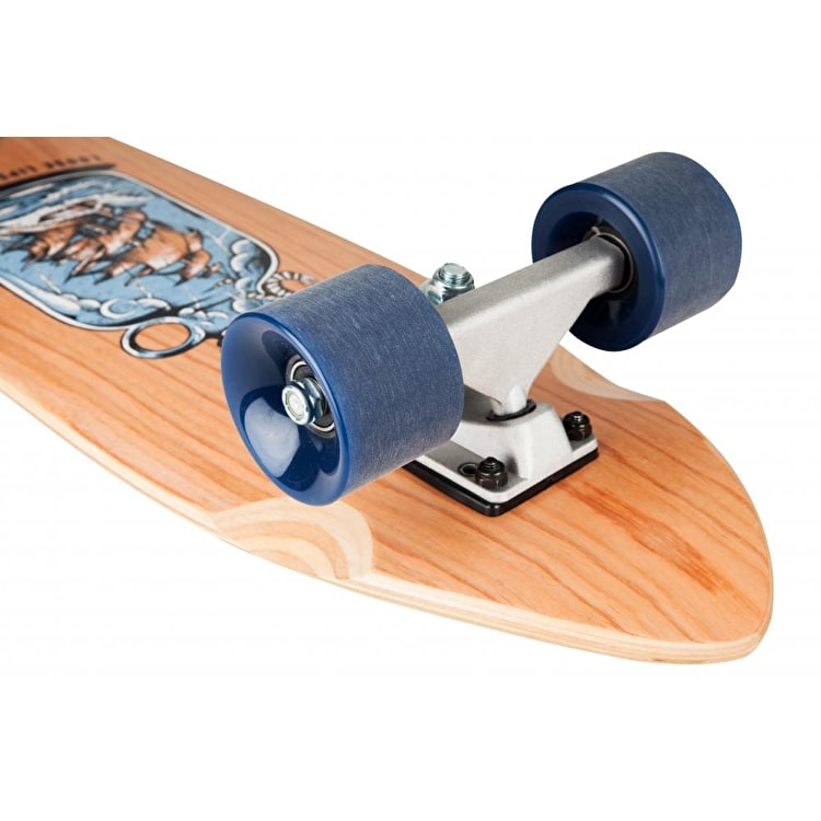 """D-Street Cherry Loose Lips Complete Cruiser - Natural 28"""""""