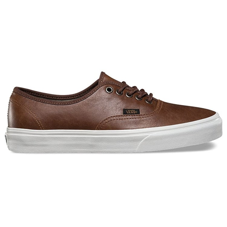 Vans Authentic Shoes - (Leather) Dachshund/Potting Soil