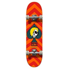 Birdhouse Mini Skateboard - McSqueeb Orange 7.25