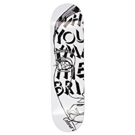 Colours Collectiv Yamada Negative Space Skateboard Deck 8