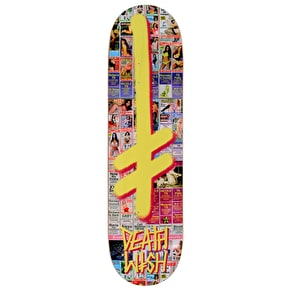 Deathwish Gang Logo Hollywood Press Skateboard Deck - 8.5