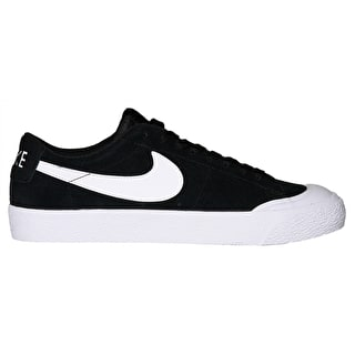 Nike SB Blazer Zoom Low XT Skate Shoes - Black/White/Gum