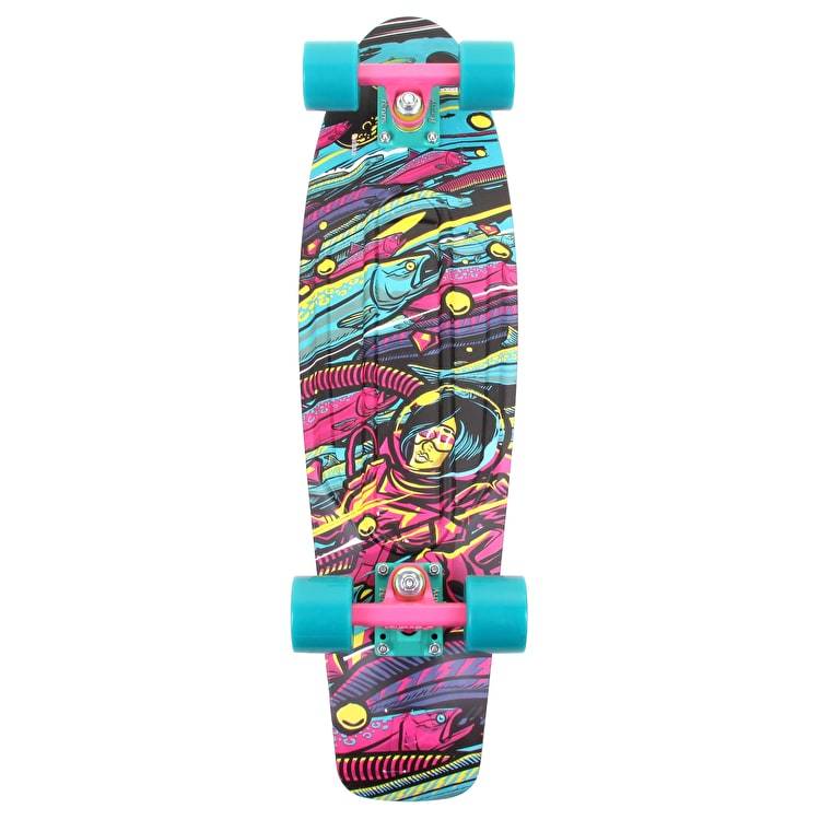 Penny Sea Space Complete Skateboard - 22""