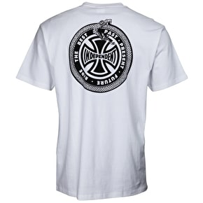 Independent Past, Present, Future T-Shirt - White