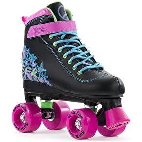 B-Stock SFR x Skatehut Vision II Kids Roller Skates - Disco UK 4 (Box Damage)