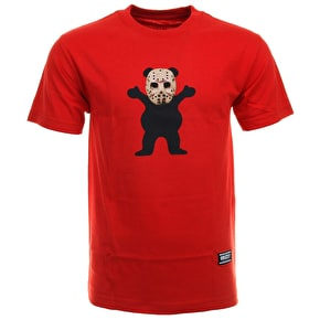 Grizzly Chris Joslin OG Bear T-Shirt - Red