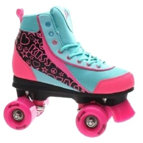 Luscious Retro Quad Skates - Summer Days