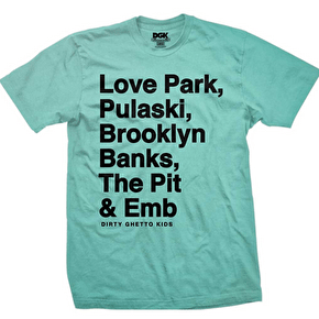 DGK Plazas T-Shirt - Mint