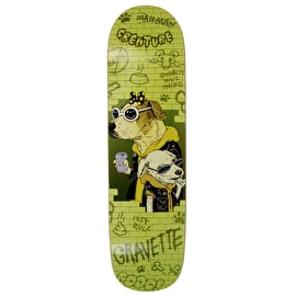 Creature Gravette Bad Dawgs Pro Skateboard Deck - 8.59