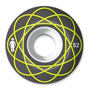 Girl Nuclear Stout 99D Skateboard Wheels - 52mm