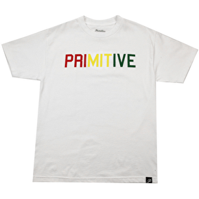 Primitive Block Type T-Shirt - White