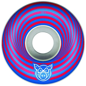 Pig Vertigo Skateboard Wheels - Red 53mm (Pack of 4)