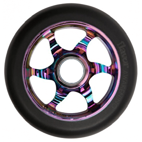 Flavor Awakening 110mm Scooter Wheel - Black/Neochrome