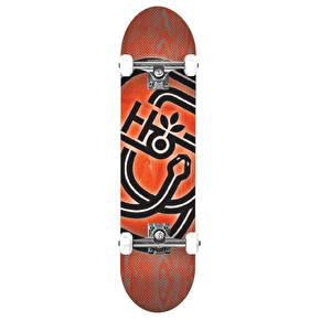 Habitat Serpent Complete Skateboard - Red - 8.25