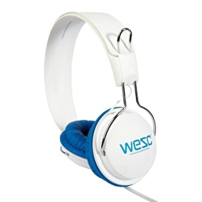WeSC Tambourine Headphones - Seasonal White