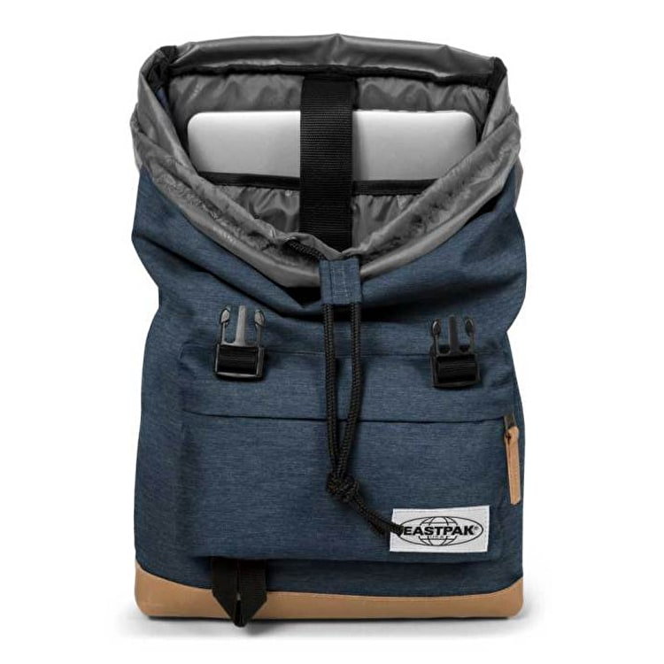 Eastpak Rowlo Into Backpack - Navy Yarn