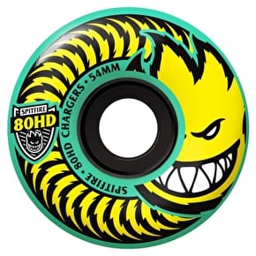 Spitfire Charger Classic 80HD Skateboard Wheels - Teal 54mm