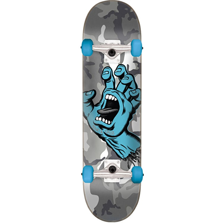 Santa Cruz Screaming Hand Camo Complete Skateboard - 7.25""