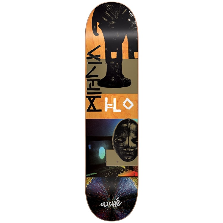 Cliche Kiln Series R7 Skateboard Deck - Mirtain 8.125""