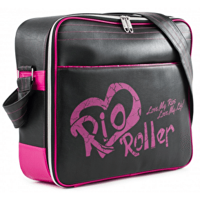 Rio Roller Fashion Skate Bag - Black/Pink