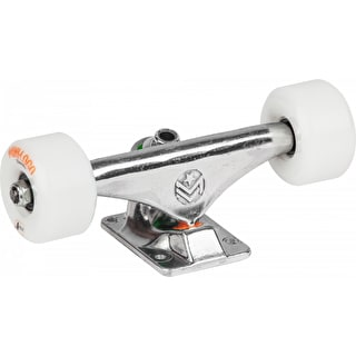 Mini Logo Skateboard Truck Assembly - Rough Polished
