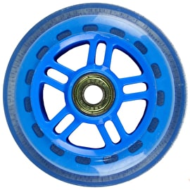 JD Bug Original Street 100mm Scooter Wheels - Reflex Blue w/Bearings