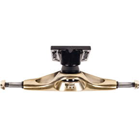 Tensor Aluminium Low Mini Flick Skateboard Trucks - Mirror Gold/Black