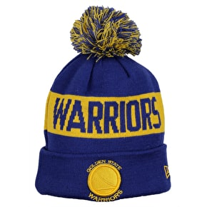 New Era NBA Team Tonal Knit Beanie - Golden State Warriors