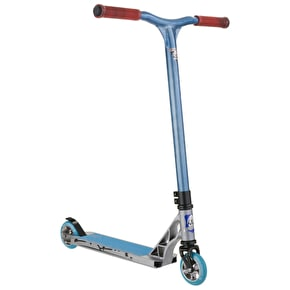 Grit Stunt Scooter - Elite 2016 Titanium/Raw Blue