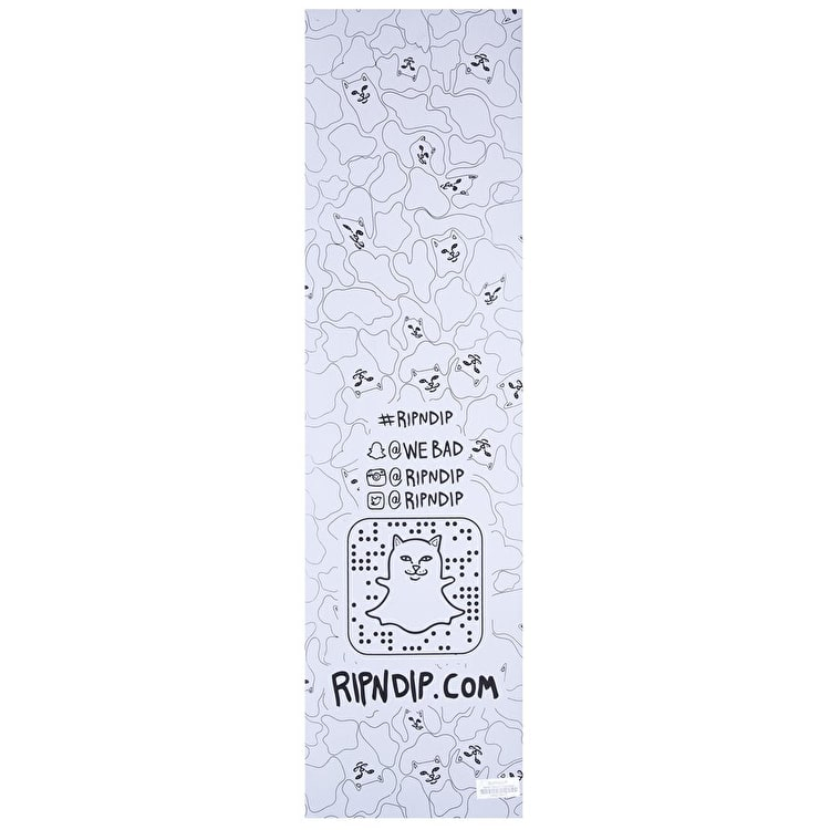 RIPNDIP Boobcuzzi Skateboard Grip Tape - Blue