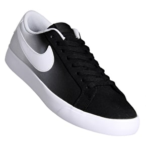Nike SB Blazer Vapor TXT Skate Shoes - Black/White