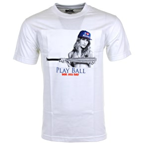 DGK Play Ball T-Shirt - White