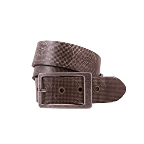 LowLife Thrash Reversible Printed Belt - White/Brown