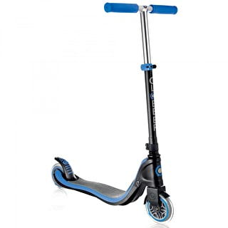 Globber Flow 125 Complete Scooter - Black/Navy Blue