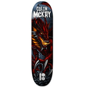 Plan B Skateboard Deck - Red Dragon McKay 8.25