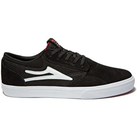 Lakai Griffin Skate Shoes - Black Suede