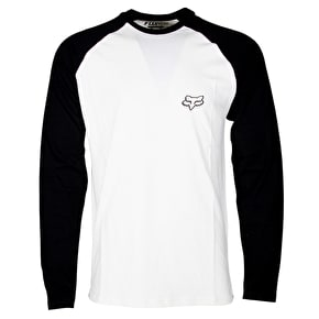 Fox Counterpart Raglan T-Shirt - Vintage White